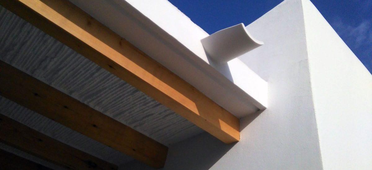 Vivienda en Formentera. Detalle