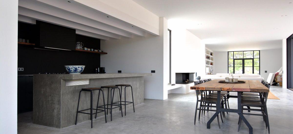 Vivienda en Formentera. Sala de estar.